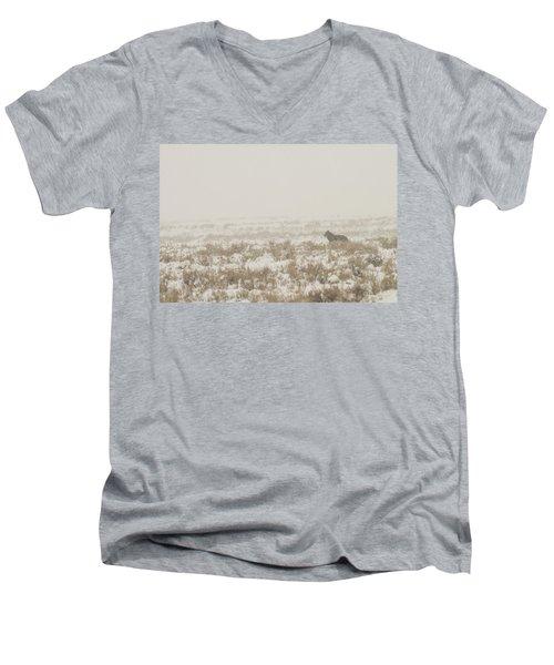 W34 Men's V-Neck T-Shirt