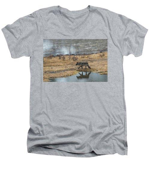 W53 Men's V-Neck T-Shirt
