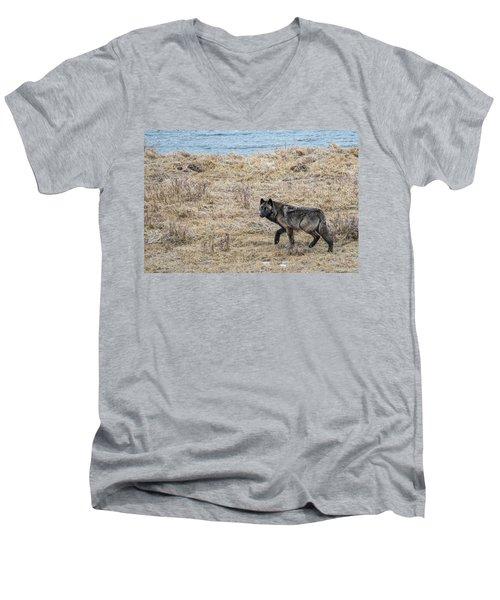 W58 Men's V-Neck T-Shirt