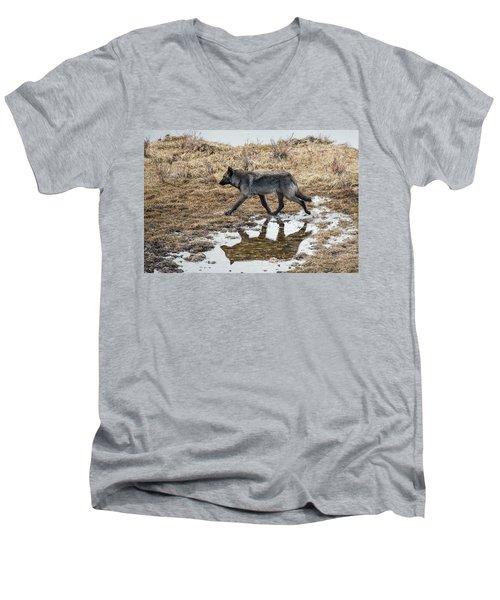 W60 Men's V-Neck T-Shirt