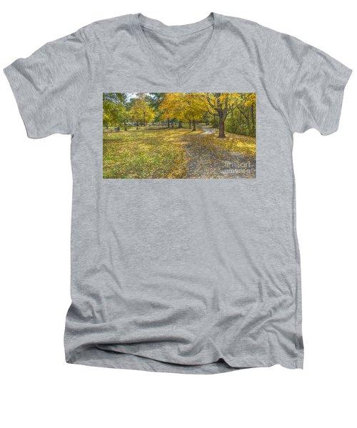 Walk In The Park @ Sharon Woods Men's V-Neck T-Shirt