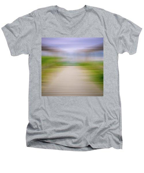 Walkway Men's V-Neck T-Shirt