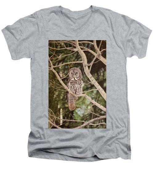 Watchful Men's V-Neck T-Shirt