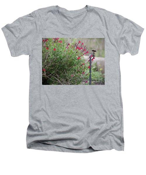 Water In The Garden Men's V-Neck T-Shirt