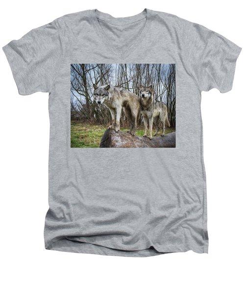 Well Hello Men's V-Neck T-Shirt