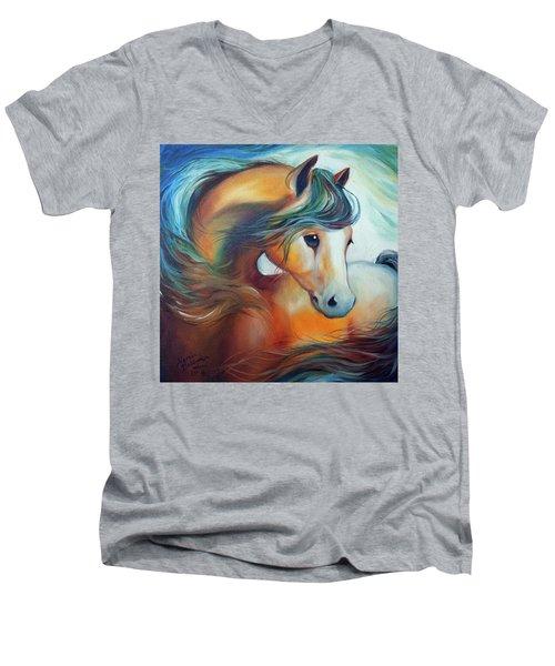 Wendy My Horse Men's V-Neck T-Shirt