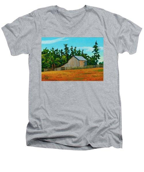 West Beach Barn Men's V-Neck T-Shirt
