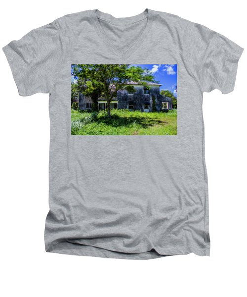 Westmoreland Plantation Men's V-Neck T-Shirt
