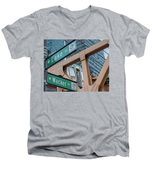 Where Are You Men's V-Neck T-Shirt