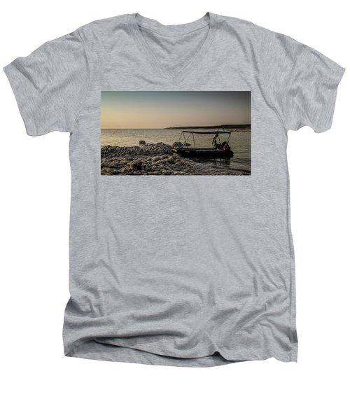 Where Have All The Sailors Gone?  Men's V-Neck T-Shirt