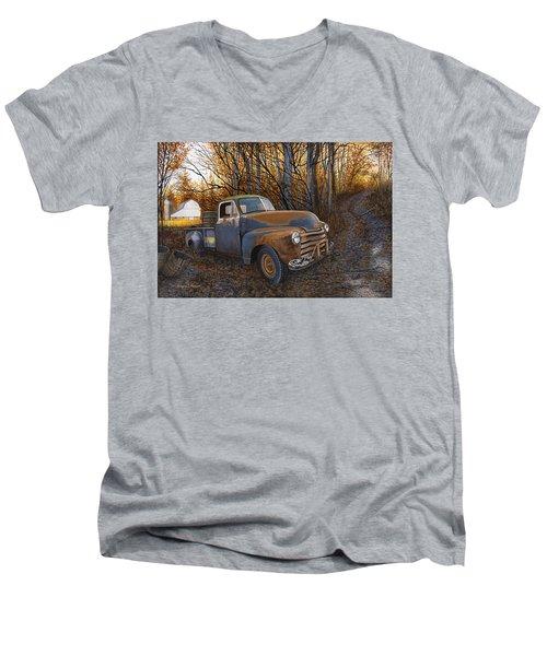 Whiskey Run Men's V-Neck T-Shirt