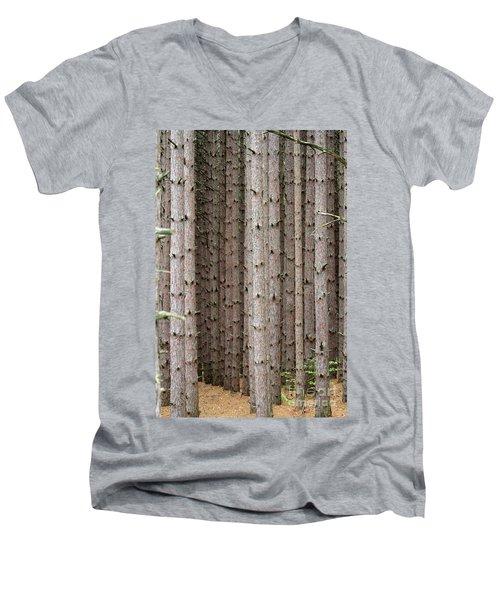 White Pines Men's V-Neck T-Shirt