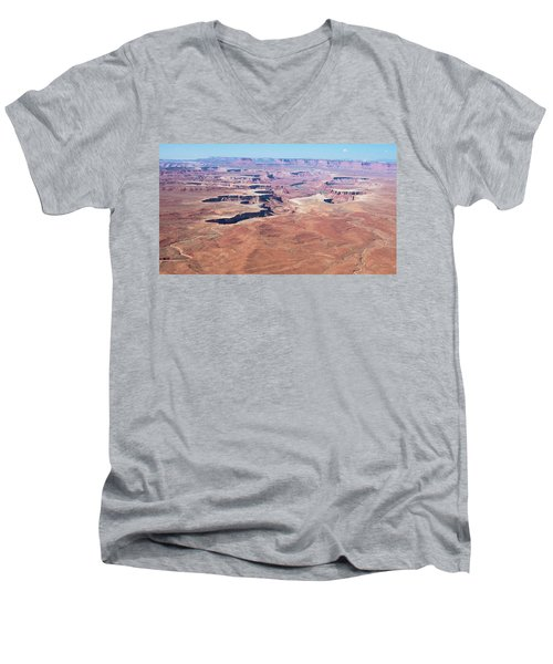 Wide Open Men's V-Neck T-Shirt
