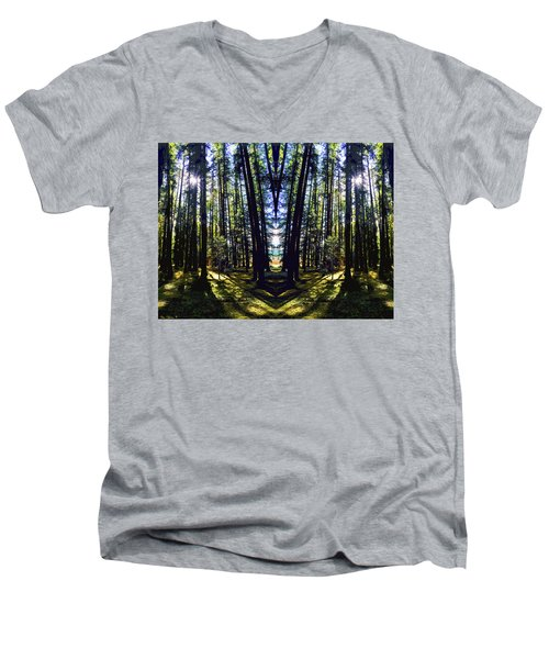 Wild Forest #1 Men's V-Neck T-Shirt