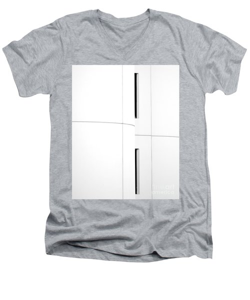 Window Abstract Men's V-Neck T-Shirt