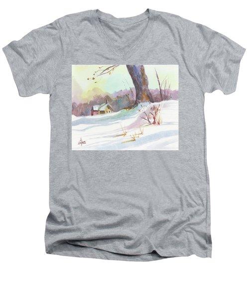 Winter Break Men's V-Neck T-Shirt