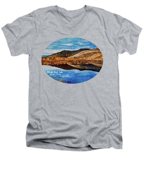 Wonderland Lake Men's V-Neck T-Shirt