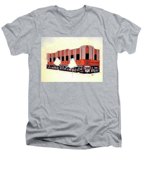 Woolworth On Market St. Men's V-Neck T-Shirt