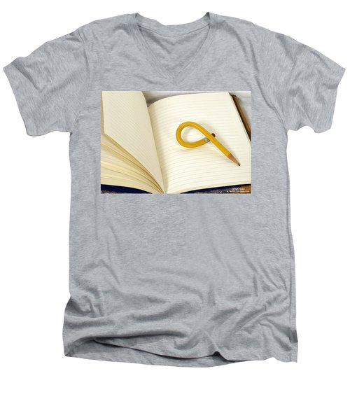 Writers Block Men's V-Neck T-Shirt