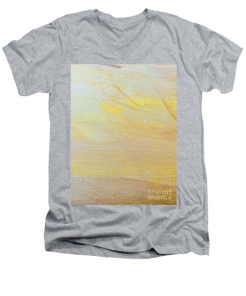 Yellow #2 Men's V-Neck T-Shirt