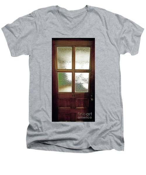 Yerkes Observatory Williams Bay Door 13 Jele3503 Men's V-Neck T-Shirt