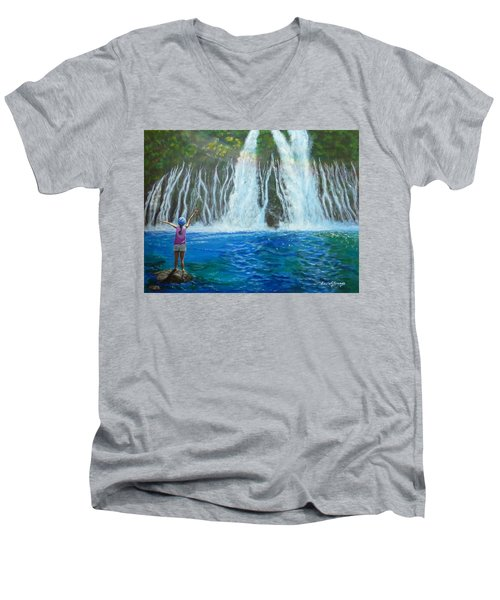 Youthful Spirit Men's V-Neck T-Shirt
