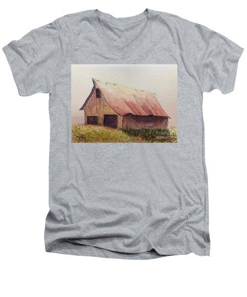 Zeke's Barn Men's V-Neck T-Shirt