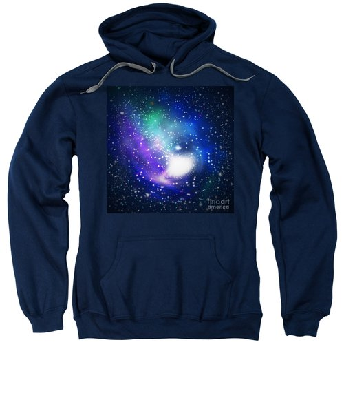 Abstract Galaxy Sweatshirt
