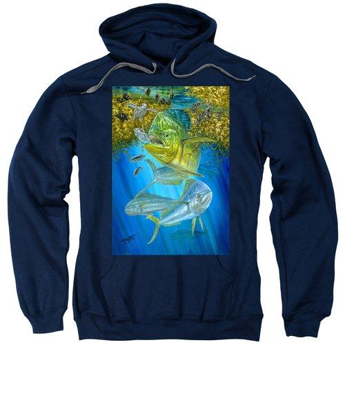 Mahi Mahi Hunting In Sargassum Sweatshirt