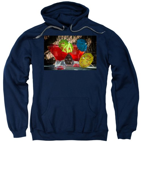 Shirley Temple Cocktail Sweatshirt by Iris Richardson