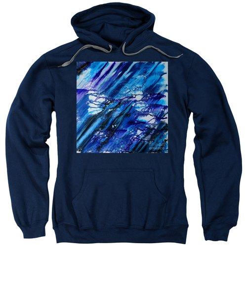 Blue Wind Sweatshirt