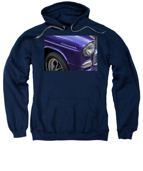 1955 Chevrolet Purple Monster Sweatshirt