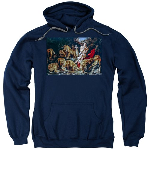 Daniel In The Lions Den Sweatshirt