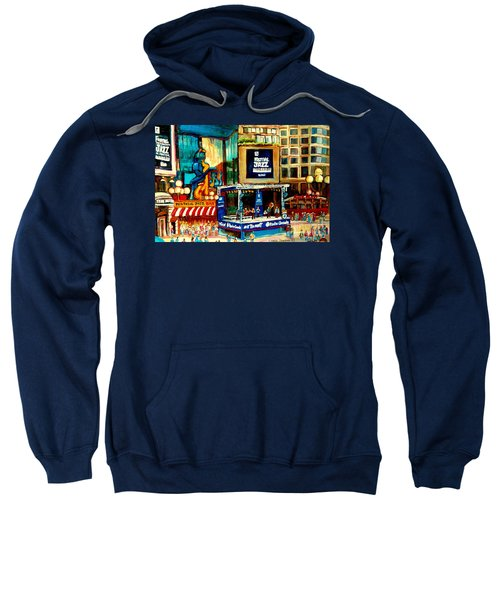 Montreal International Jazz Festival Sweatshirt