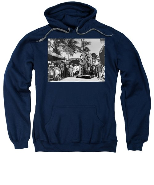 A Portable Jazz Band In Miami Sweatshirt
