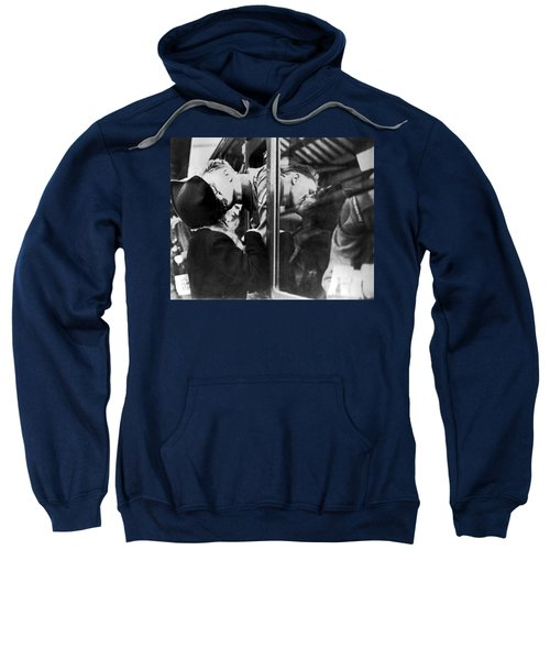 A Soldier's Double Kiss Sweatshirt