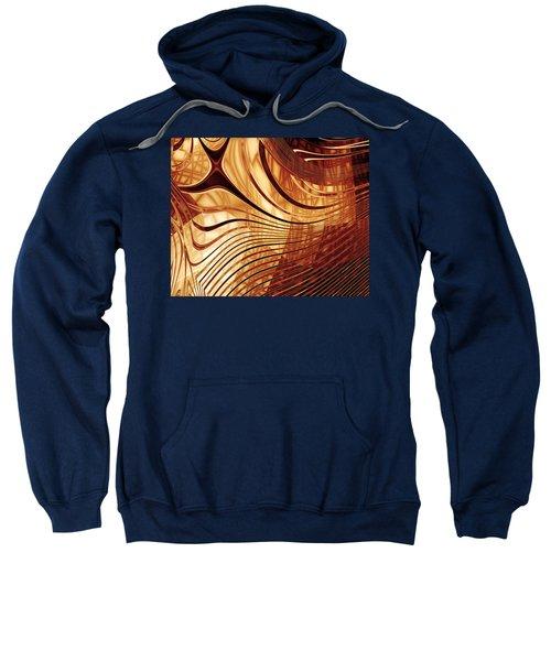 Abstract Artwork Gold 2 Sweatshirt