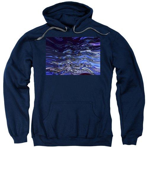 Abstract Reflections - Digital Art #2 Sweatshirt