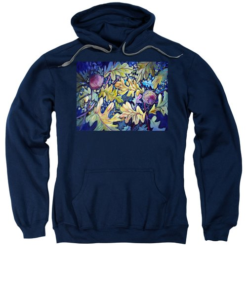 Acorns And Oak Leaves Sweatshirt