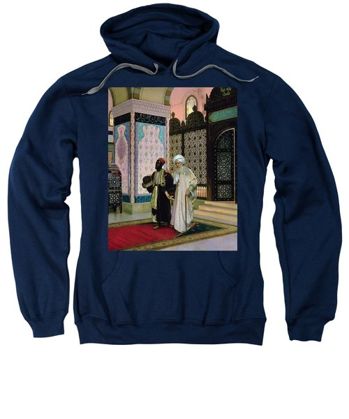 After Prayers At The Mosque Sweatshirt