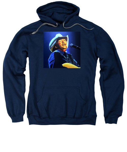 Alan Jackson Painting Sweatshirt