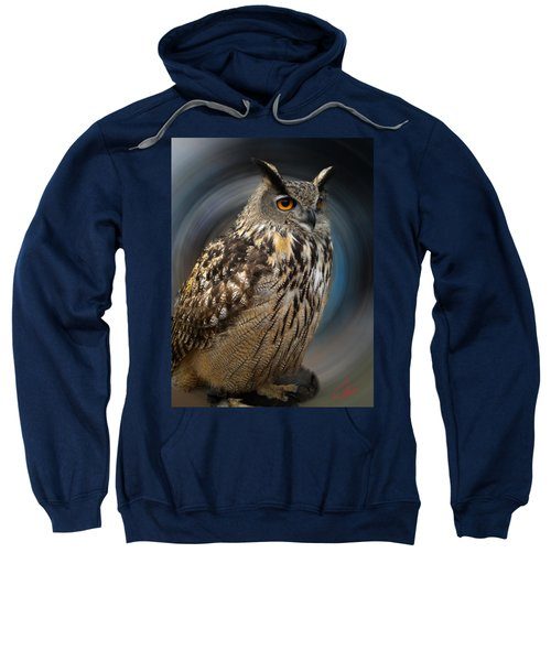 Almeria Wise Owl Living In Spain  Sweatshirt