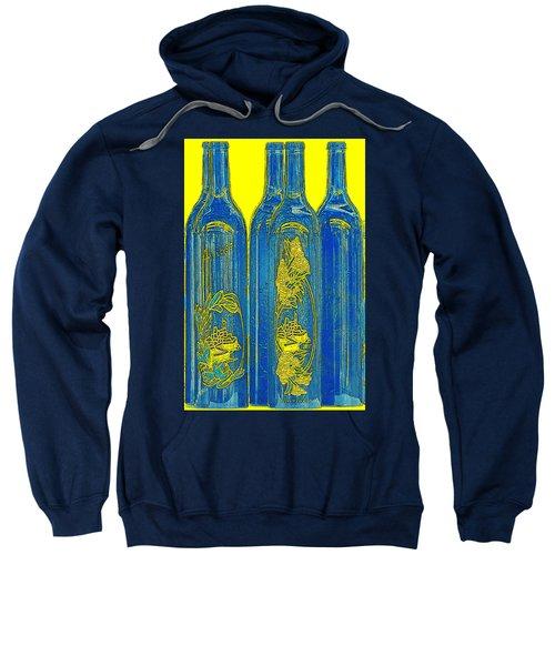 Antibes Blue Bottles Sweatshirt