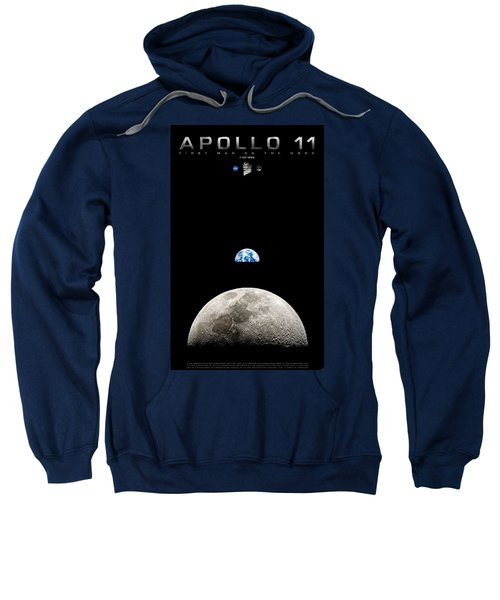 Apollo 11 First Man On The Moon Sweatshirt