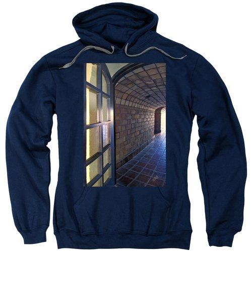 Archway In Mission Inn Riverside Sweatshirt