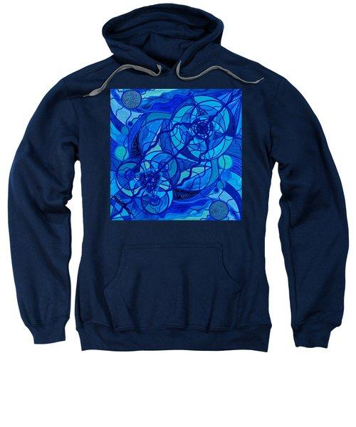 Arcturian Calming Grid Sweatshirt
