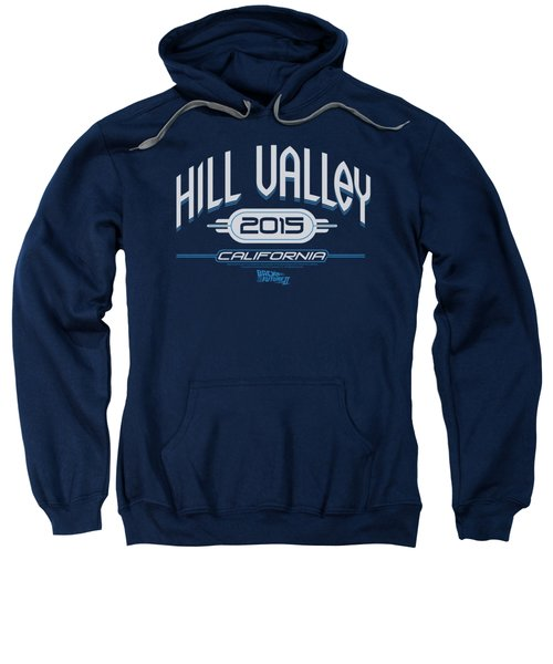 Back To The Future II - Hill Valley 2015 Sweatshirt