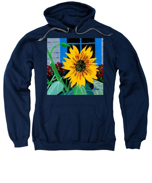 Backyard Flowers  Sweatshirt