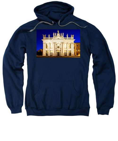 Basilica Di San Giovanni In Laterano Sweatshirt