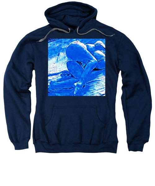 Bathing In Blu Light Sweatshirt
